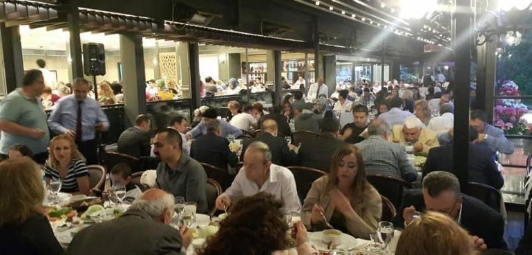 İstanbul'daki Mardinliler Geleneksel MAREV İftar Yemeğinde Buluştu.
