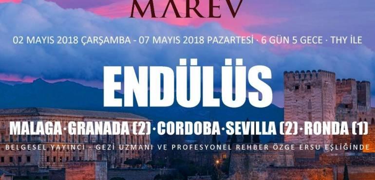 MAREV Kültür ve Turizm Komitesi'nin Düzenlediği Endülüs Turu
