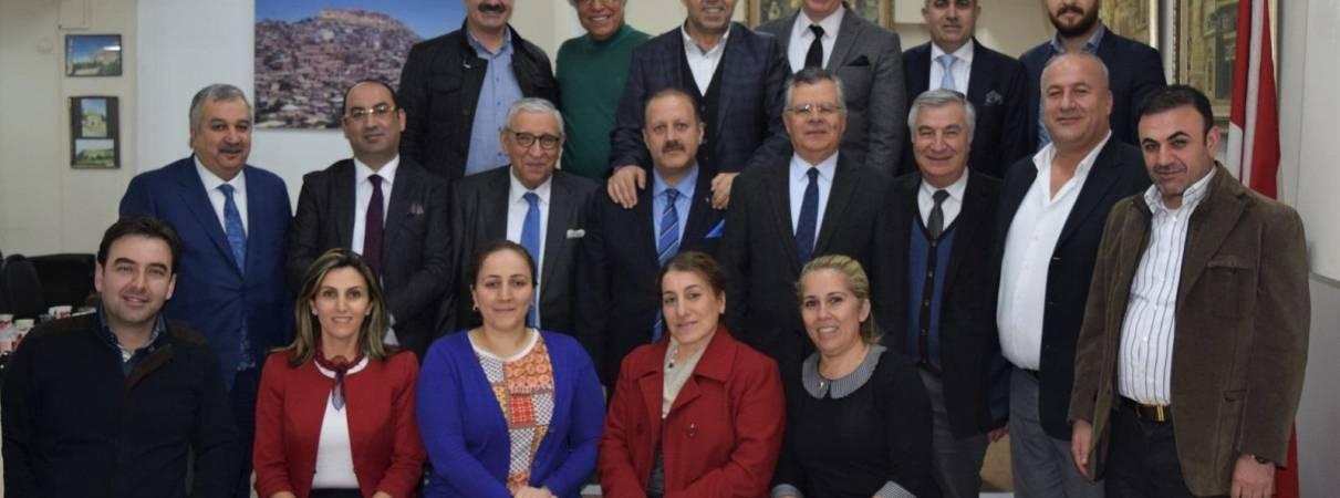 Mardinliler Derneği ve Mardinli İş Adamları Derneği Ziyaretleri