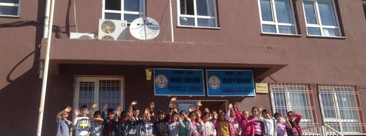 MAREV İbrahim Fidan İlk ve Ortaokulu'na 23 Nisan Ulusal Egemenlik ve Çocuk Bayramı Ziyareti