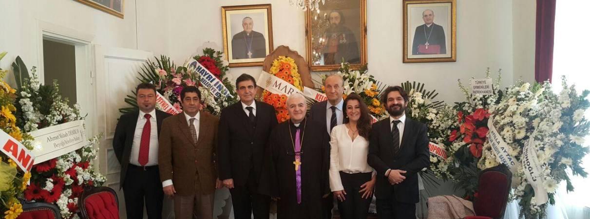 Süryani Katolik Cemaati Paskalya Ziyareti